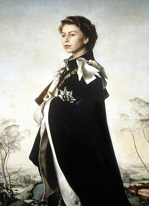 Undated handout image courtesy of the National Portrait Gallery of Queen Elizabeth II by Pietro Annigoni, 1954-55. PRESS ASSOCIATION Photo. Issue date: Wednesday May 16, 2012. Two works by Italian portrait painter Pietro Annigoni will go on display at the National Portrait Gallery in central London as part of a new exhibition, The Queen: Art and Image, which runs until October. See PA story ARTS Queen. Photo credit should read: The Fishmongers' Company/PA Wire  NOTE TO EDITORS: This handout photo may only be used for editorial reporting purposes for the contemporaneous illustration of events, things or the people in the image or facts mentioned in the caption. Reuse of the picture may require further permission from the copyright holder.