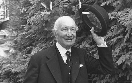 Lord Denning who has died aged 100 was the Master of the Rolls Pictured raising his bowler hat on the way to the Royal Courts of Justice for his last day before retiring as Master of the Rolls after 20 years as the senior civil appeal judge Made from zz