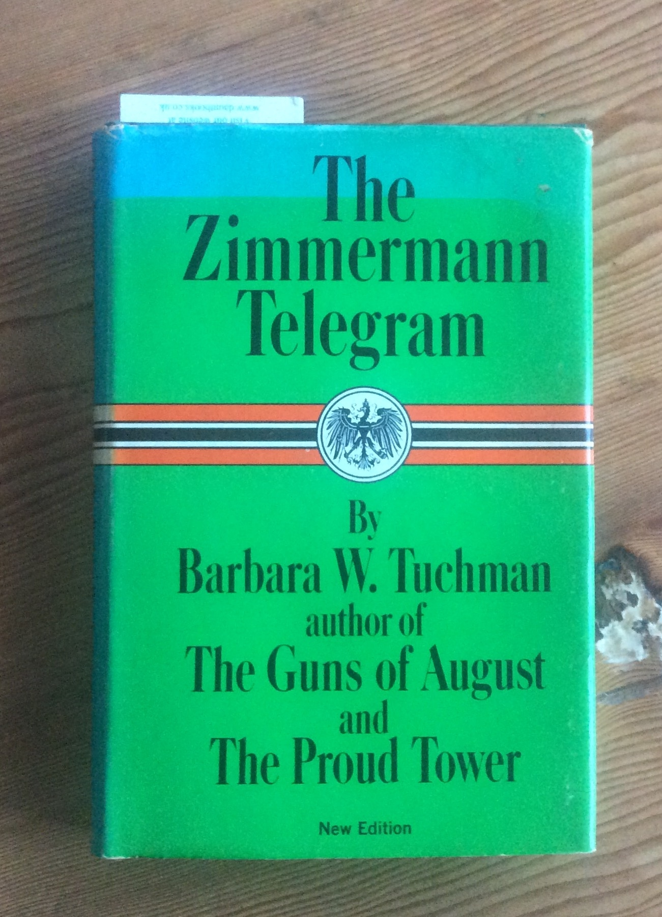 the zimmermann telegram was it necessary The united states stepped closer to war when americans found out about the zimmermann note this secret telegram to zimmerman note, neutrality was very important.