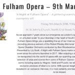 Fulham Opera Night