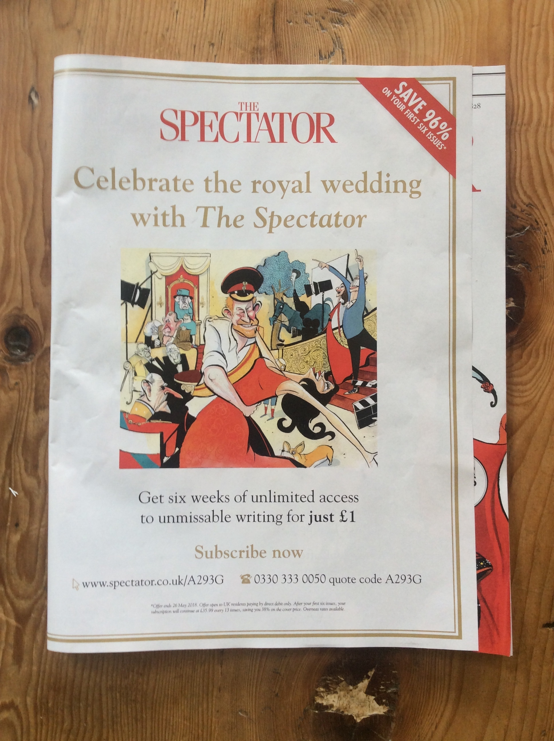 Royal Wedding Special Supplement - Blog Bellew